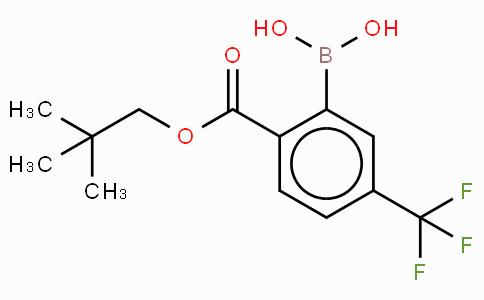 2,2-Dimethylpropyl-4'-(trifluoromethyl)benzoate-2'-boronic acid