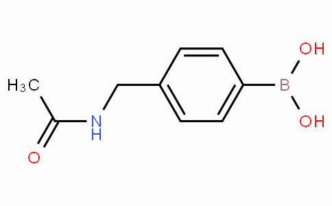4-(Acetylaminomethyl)benzeneboronic acid