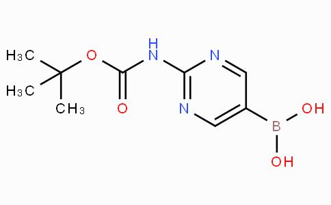 [2-(叔丁氧羰基氨基)嘧啶-5-基]硼酸