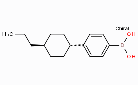 4-(Trans-4-propylcyclohexyl)phenylboronic acid