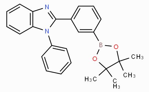 3-(1-苯基-1H-苯并咪唑-2-基)苯硼酸嚬哪醇酯
