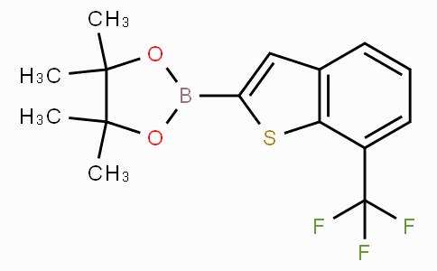 4,4,5,5-Tetramethyl-2-(7-trifluoromethyl-benzo[b] thiophen-2-yl)-[1,3,2]dioxaborolane
