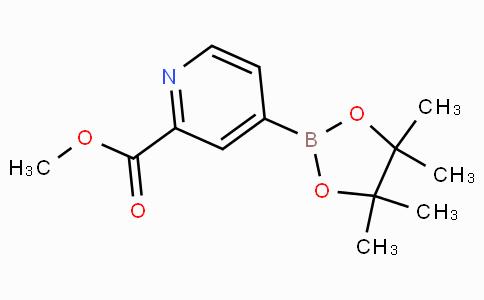 4-(4,4,5,5-Tetramethyl-[1,3,2]dioxaborolan-2-yl)-pyridine-2 -carboxylic acid methyl ester