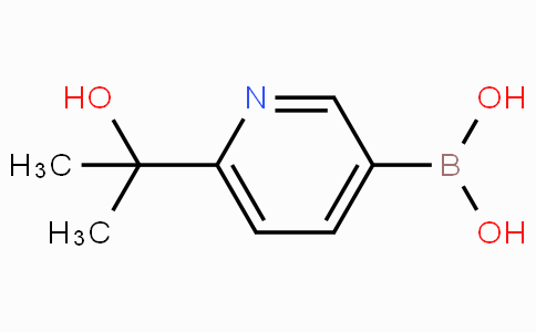 6-(2-HYDROXYPROPAN-2-YL)PYRIDIN-3-YLBORONIC ACID