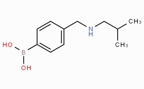 4-[[(2-methylpropyl)amino]methyl]phenylboronic acid