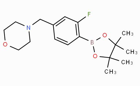 2-Fluoro-4-(morpholinomethyl)phenylboronic acid pinacol ester