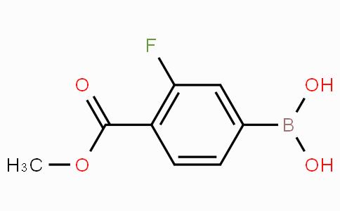 3-Fluoro-4-methoxycarbonylphenylboronic acid