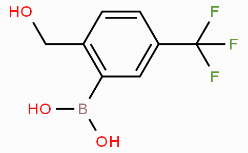2-Hydroxymethyl-5-(trifluoromethyl)phenylboronic acid