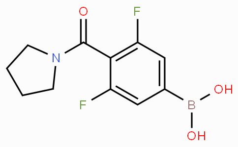 3,5-Difluoro-4-(1-pyrrolidinylcarbonyl)phenylboronic acid