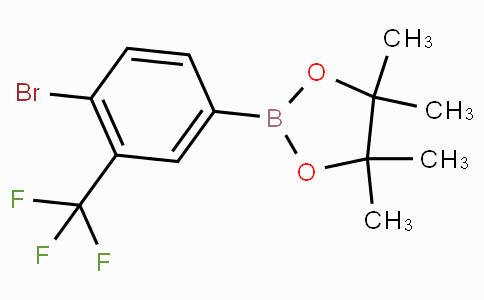 4-Bromo-3-(trifluoromethyl)phenylboronic acid pinacol ester