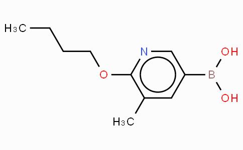 6-Butoxy-5-methylphenylpyridine-3-boronic acid