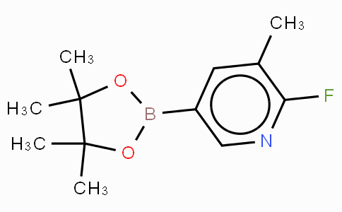 2-Fluoro-3-methylpyridine-5-boronic acid, pinacol ester