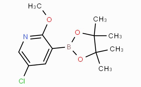 5-Chloro-2-methoxypyridine-3-boronic acid pinacol ester