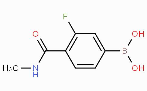 3-Fluoro-4-(methylcarbamoyl)phenylboronic acid