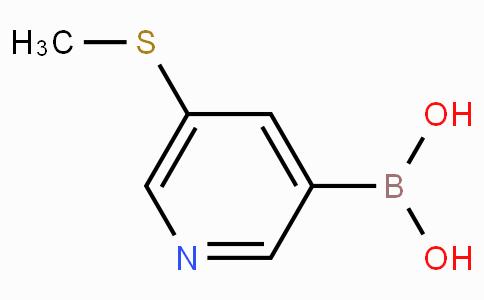 5-(Methylthio)pyridine-3-boronic acid