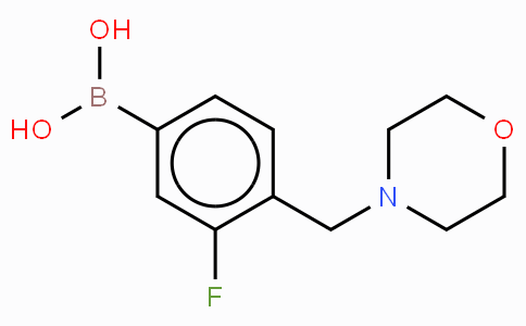 3-Fluoro-4-(morpholinylmethyl)phenylboronic acid