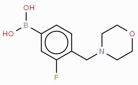 3-Fluoro-4-(morpholinylmethyl)phenylboronic acid