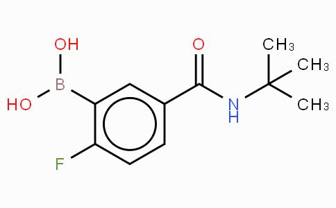 5-(Tert-butylcarbmoyl)-2-fluorophenylboronic acid