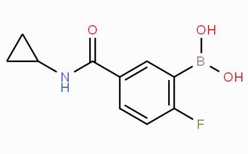 5-(Cyclopropylcarbamoyl)-2-fluorophenylboronic acid