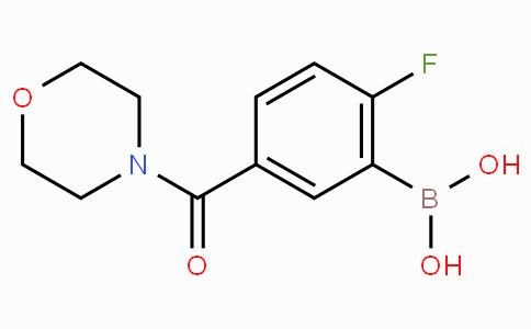 2-氟-5-(4-吗啉基甲酰基)苯硼酸