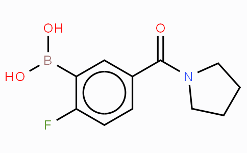 2-Fluoro-5-(pyrolidine-1-carbonyl)phenylboronic acid