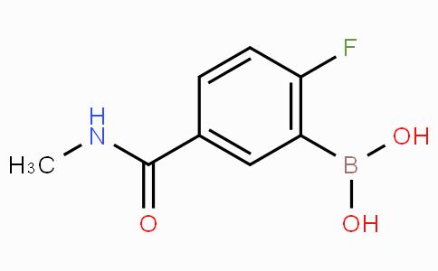 2-Fluoro-5-(methylcarbamoyl)phenylboronic acid