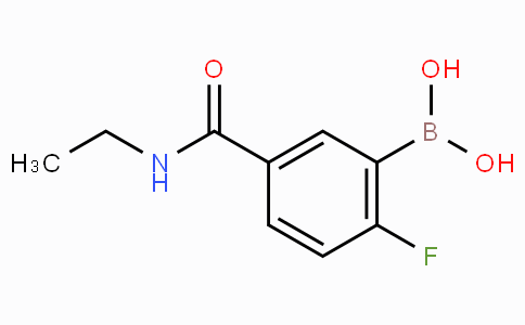 5-(Ethylcarbamoyl)-2-fluorophenylboronic acid