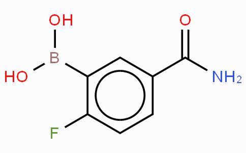 5-氨基甲酰基-2-氟苯硼酸