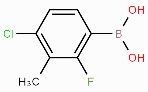 4-Chloro-2-fluoro-3-methylphenylboronic acid