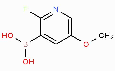2-Fluoro-5-methoxypyridine-3-boronic acid