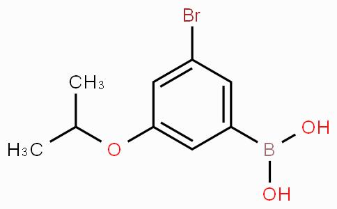 3-Bromo-5-isopropoxyphenylboronic acid