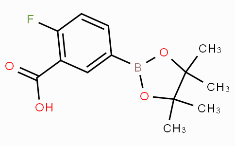 3-Carboxy-4-fluorophenylboronic acid pinacol ester