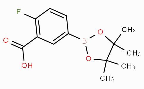3-CARBOXY-4-FLUOROPHENYLBORONIC ACID, PINACOL ESTER