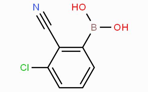 3-Chloro-2-cyanophenylboronic acid