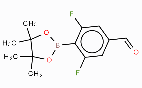 2,6-Difluoro-4-formylphenylboronic acid, pinacol ester