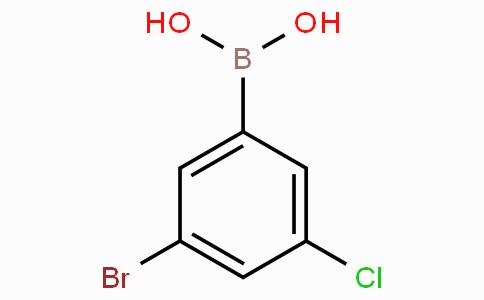 3-Bromo-5-chlorophenylboronic acid