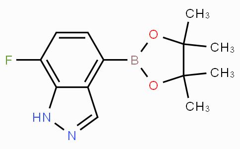 7-Fluoro-4-(4,4,5,5-tetramethyl-1,3,2-dioxaborolan-2-yl)-1H-indazole