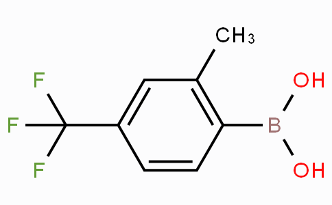 2-Methyl-4-(trifluoromethyl)phenylboronic acid