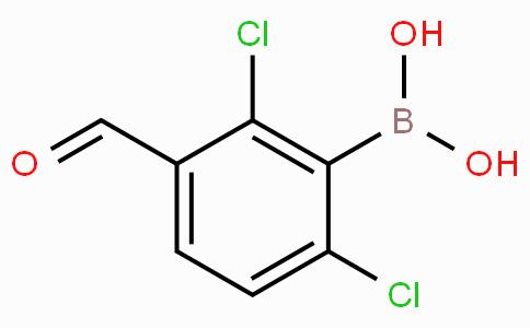 2,6-Dichloro-3-formylphenylboronic acid