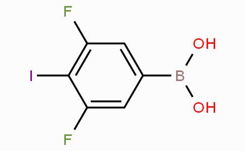 3,5-Difluoro-4-iodophenylboronic acid