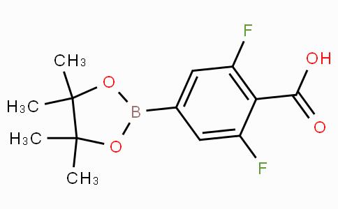 2,6-Difluoro-4-(4,4,5,5-tetramethyl-1,3,2-dioxaborolan-2-yl)-benzoic acid