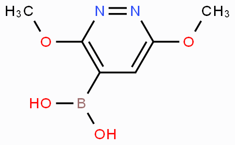 3,6-Dimethoxylpyridazine-4-boronic acid