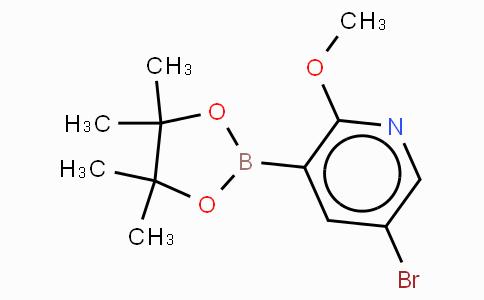 5-Bromo-2-methoxypyridine-3-boronic acid, pinacol ester