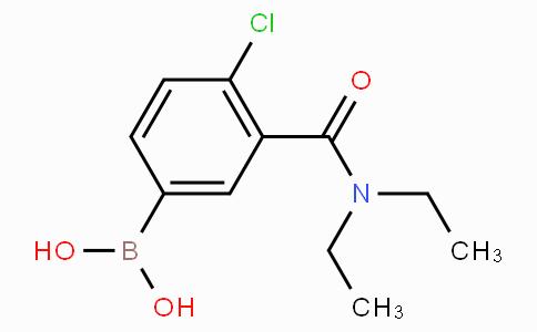 4-Chloro-3-(N,N-diethylcarbamoyl)phenylboronic acid