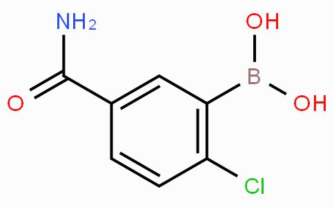 5-Carbamoyl-2-chlorophenylboronic acid