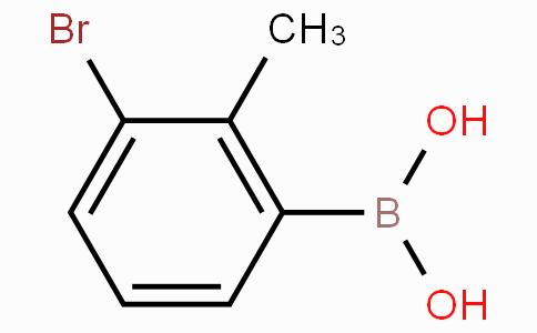 3-Bromo-2-methylphenylboronic acid