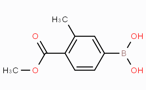 3-Methyl-4-(methoxycarbonyl)phenylboronic acid