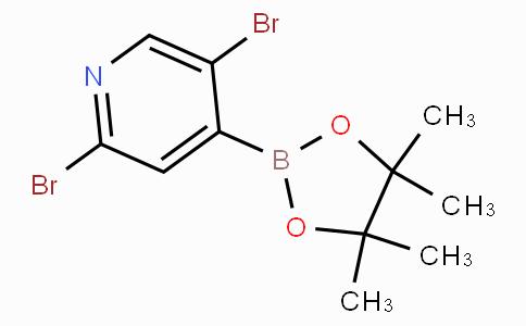2,5-Dibromo-4-pyridinylboronic acid pinacol ester