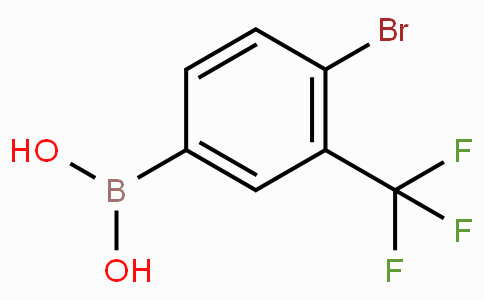 4-Bromo-3-(trifluoromethyl)phenylboronic acid
