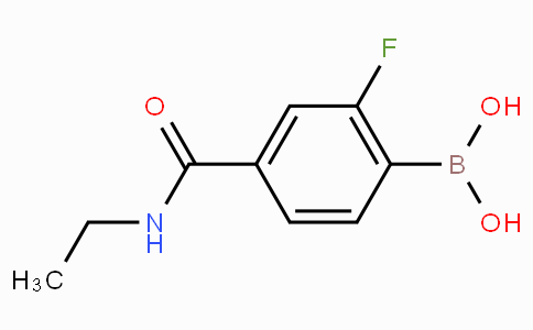 2-Fluoro-4-(N-ethylaminocarbonyl)phenylboronic acid